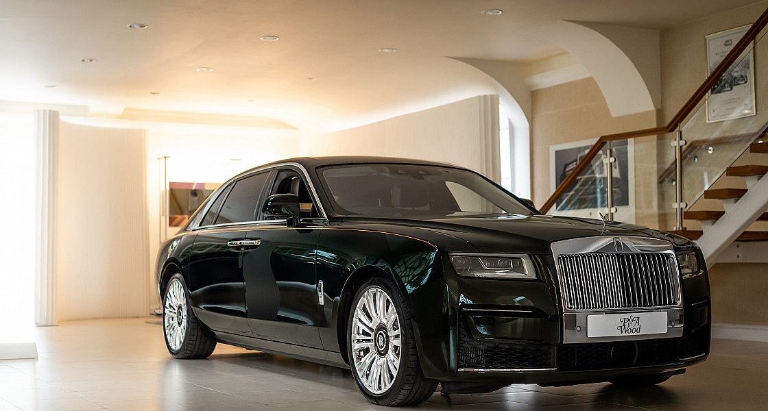 New Rolls-Royce Ghost at P & A Wood